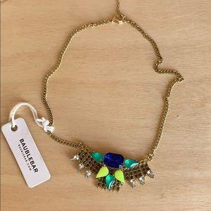 Rhinestone necklace bauble bar